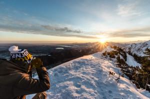 Sonnenaufgang Ostlerhütte