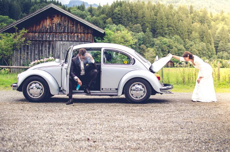 Hochzeitsfotografie im Allgäu